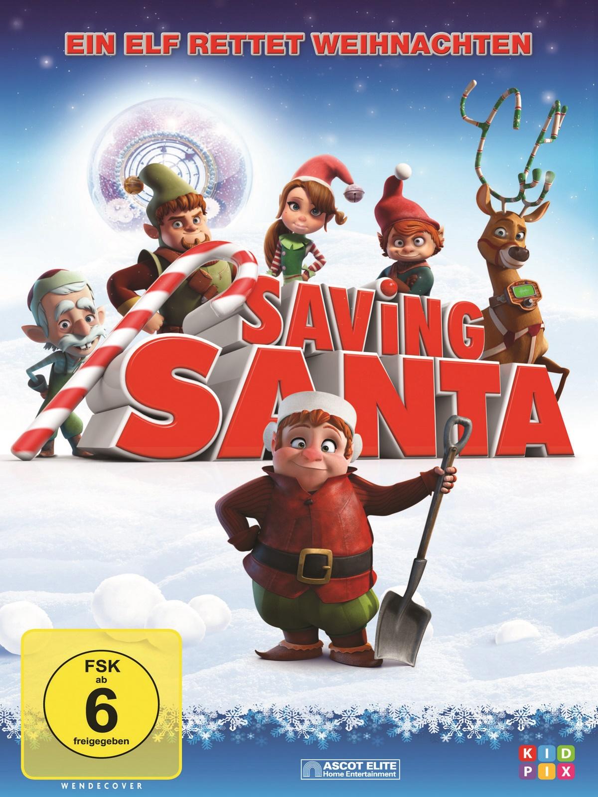 saving santa ein elf rettet weihnachten schauspieler. Black Bedroom Furniture Sets. Home Design Ideas