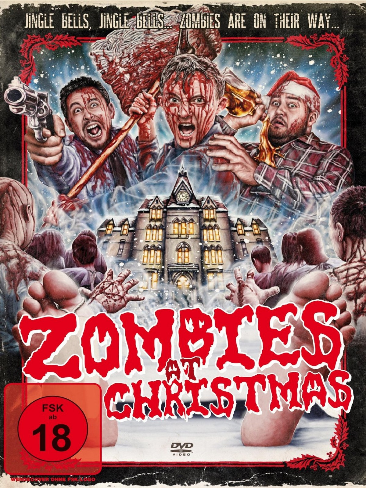 Zombies At Christmas