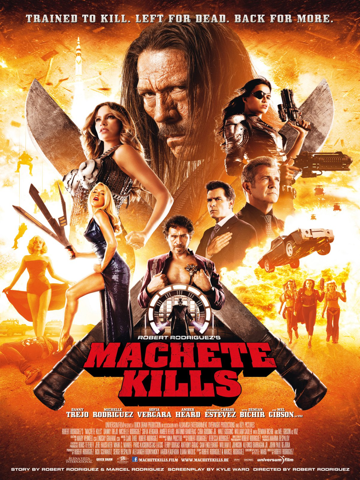machete kills besetzung