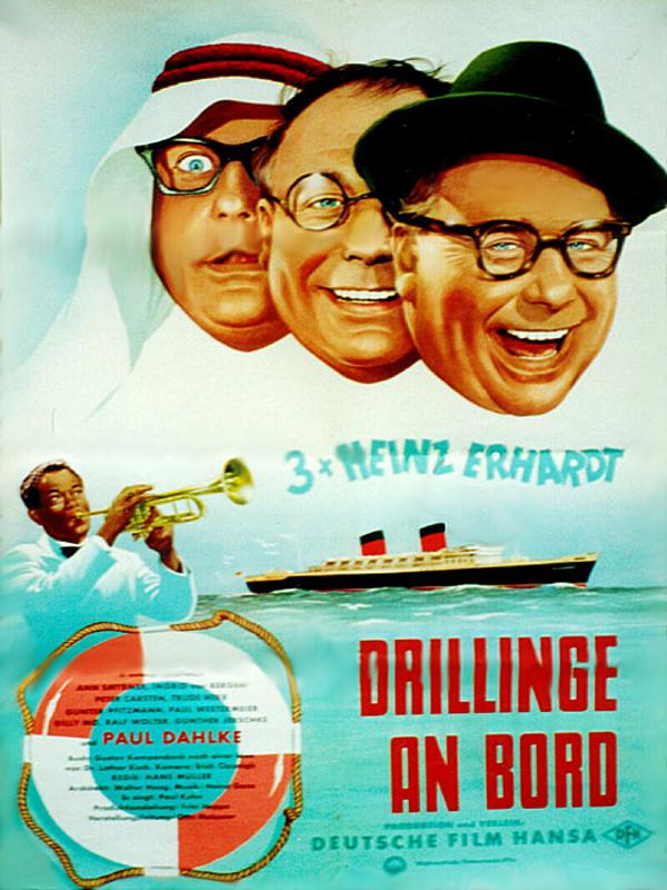 Drillinge An Bord