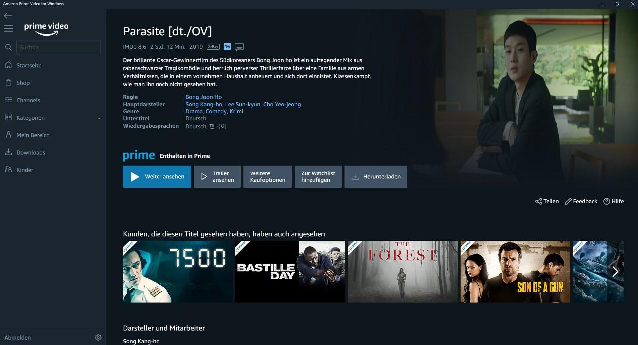 Amazon Prime Auf Pc