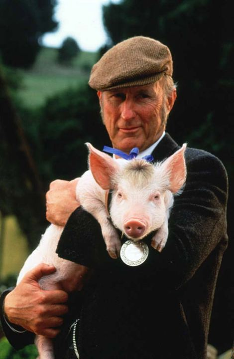Schweinchen Babe in der großen Stadt : Bild James Cromwell
