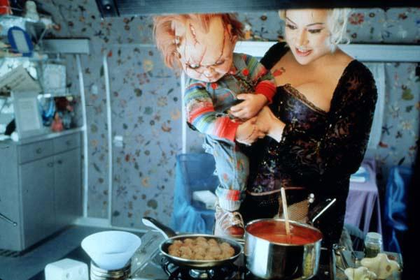 Chucky und seine Braut : Bild Jennifer Tilly, Ronny Yu