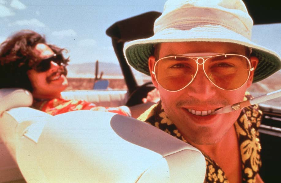 Fear and Loathing in Las Vegas : Bild Benicio Del Toro, Johnny Depp