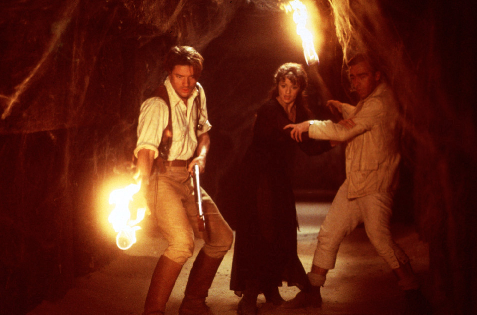 Die Mumie : Bild Brendan Fraser, John Hannah, Rachel Weisz