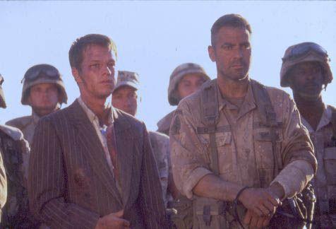 Three Kings : Bild George Clooney, Mark Wahlberg