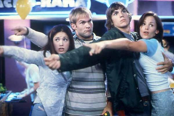 Ey Mann - Wo is' mein Auto? : Bild Ashton Kutcher, Jennifer Garner, Seann William Scott