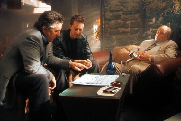 The Score : Bild Edward Norton, Marlon Brando, Robert De Niro