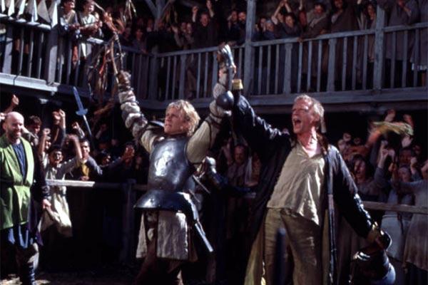 Ritter aus Leidenschaft : Bild Brian Helgeland, Heath Ledger, Paul Bettany