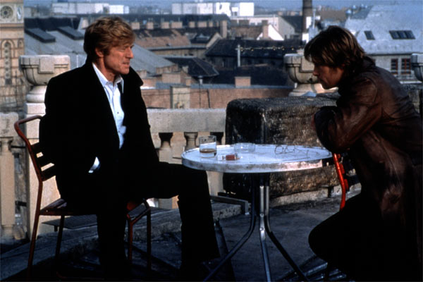 Spy Game - Der finale Countdown : Bild Brad Pitt, Robert Redford