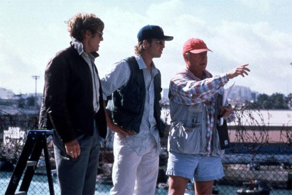 Spy Game - Der finale Countdown : Bild Brad Pitt, Robert Redford, Tony Scott