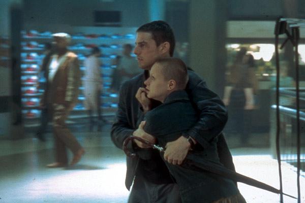 Minority Report : Bild Samantha Morton, Tom Cruise