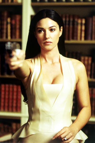Matrix Reloaded : Bild Lana Wachowski, Lilly Wachowski, Monica Bellucci
