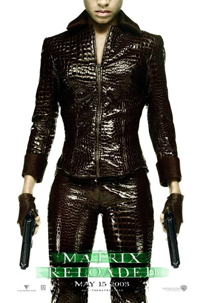 Matrix Reloaded : Bild Carrie-Anne Moss