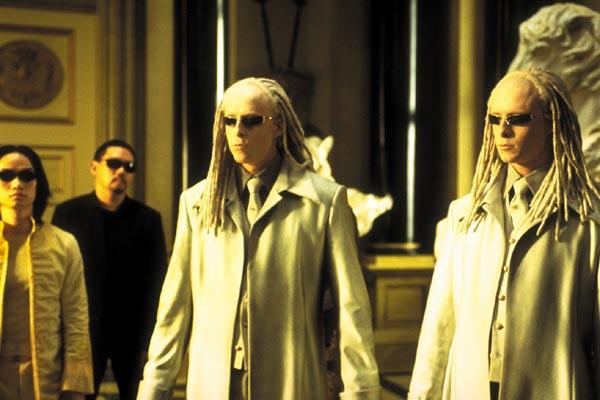 Matrix Reloaded : Bild Adrian Rayment, Lana Wachowski, Lilly Wachowski, Neil Rayment