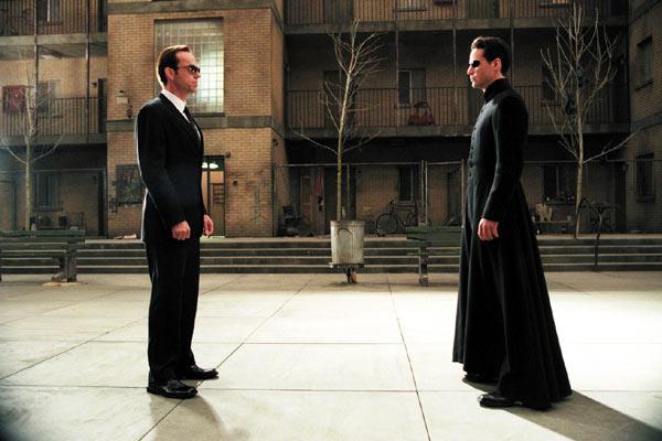 Matrix Reloaded : Bild Lana Wachowski, Lilly Wachowski