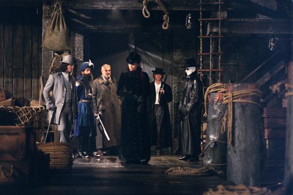 Die Liga der außergewöhnlichen Gentlemen : Bild Naseeruddin Shah, Peta Wilson, Sean Connery, Shane West, Stuart Townsend