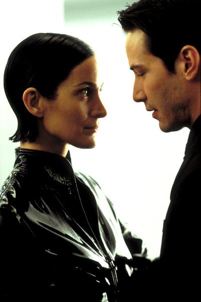 Matrix Revolutions : Bild Carrie-Anne Moss, Keanu Reeves