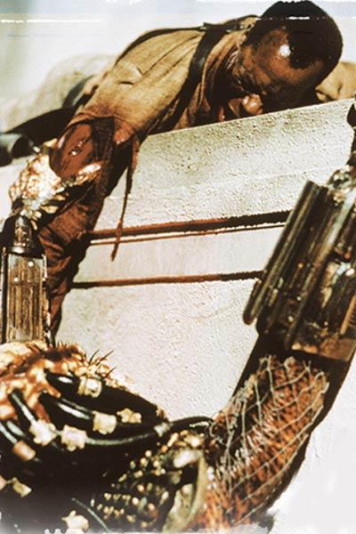 Predator 2 : Bild Danny Glover, Kevin Peter Hall
