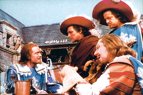 Die drei Musketiere : Bild Gene Kelly, George Sidney, Gig Young, Robert Coote, Van Heflin