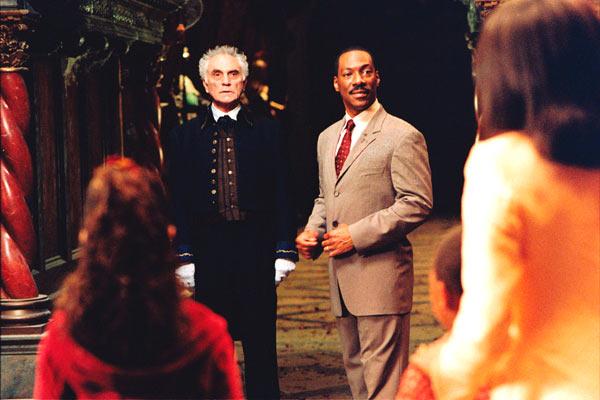 Die Geistervilla: Eddie Murphy, Terence Stamp