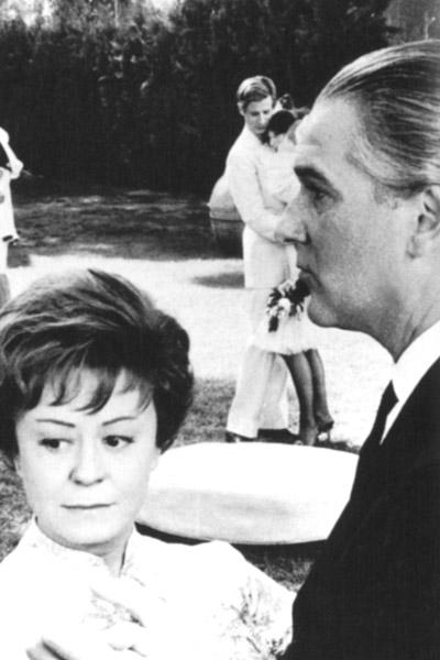 Julia und die Geister : Bild Federico Fellini, Giulietta Masina