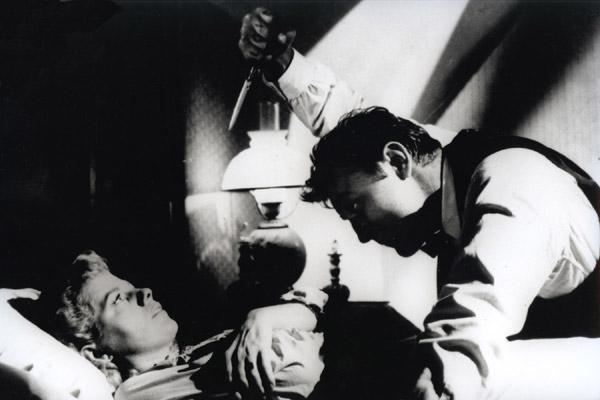 Die Nacht des Jägers : Bild Charles Laughton, Robert Mitchum, Shelley Winters