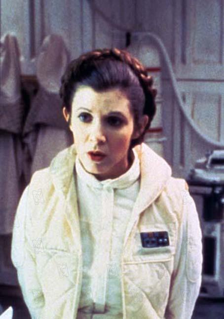 Star Wars: Episode V - Das Imperium schlägt zurück : Bild Carrie Fisher, Irvin Kershner