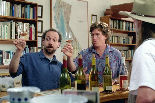 Sideways : Bild Alexander Payne, Paul Giamatti, Thomas Haden Church