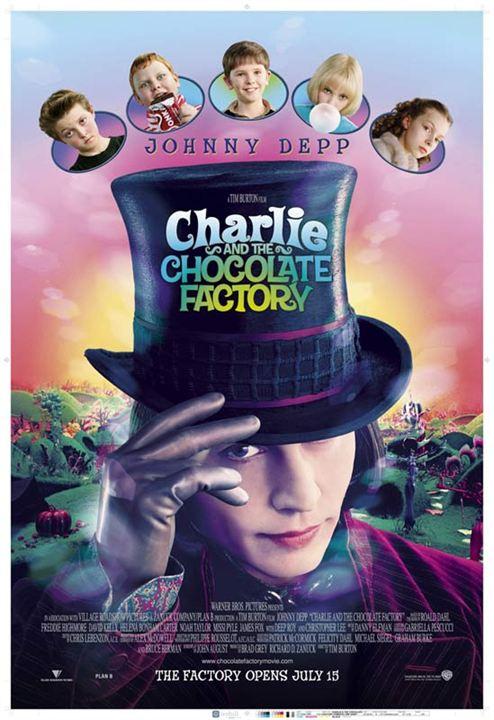 Charlie und die Schokoladenfabrik : Kinoposter