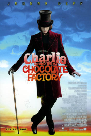 Charlie und die Schokoladenfabrik : Bild Johnny Depp