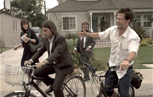 I Heart Huckabees : Bild Dustin Hoffman, Jason Schwartzman, Lily Tomlin, Mark Wahlberg