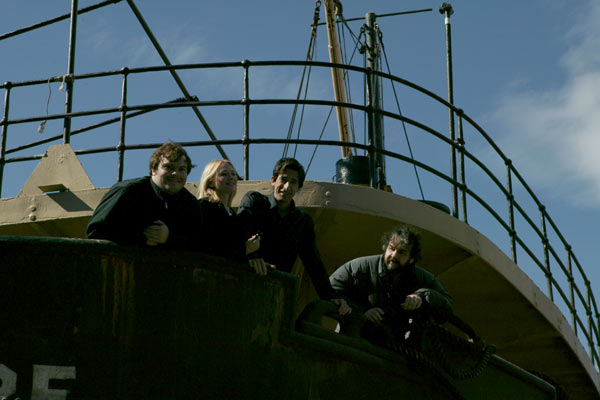King Kong : Bild Adrien Brody, Jack Black, Naomi Watts, Peter Jackson