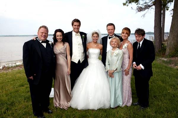 Die Hochzeits-Crasher : Bild Christopher Walken, Ellen Albertini Dow, Jane Seymour, Keir O'Donnell, Rachel McAdams