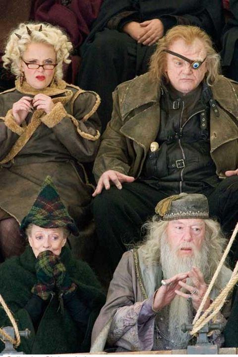 Harry Potter und der Feuerkelch : Bild Brendan Gleeson, Maggie Smith, Michael Gambon, Miranda Richardson