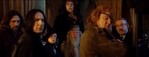 Harry Potter und der Feuerkelch : Bild Alan Rickman, Brendan Gleeson, Frances de la Tour, Maggie Smith, Michael Gambon