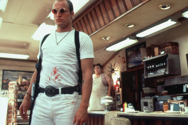 Natural Born Killers : Bild Oliver Stone, Woody Harrelson