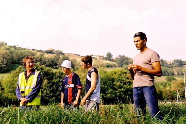Camping à la ferme : Bild Bruno Lochet, Jean-Pierre Sinapi, Roschdy Zem