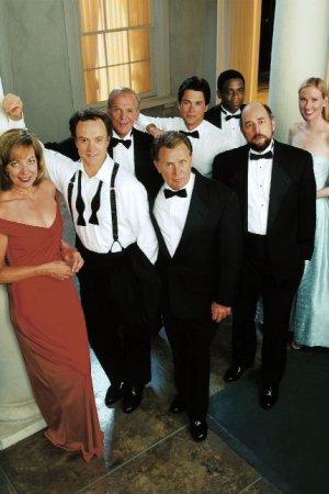 The West Wing : Bild Allison Janney, Bradley Whitford, Dule Hill, Janel Moloney, John Spencer
