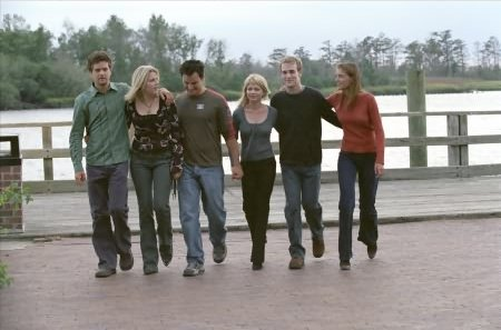 Dawson's Creek : Bild Busy Philipps, James Van Der Beek, Joshua Jackson, Katie Holmes, Kerr Smith