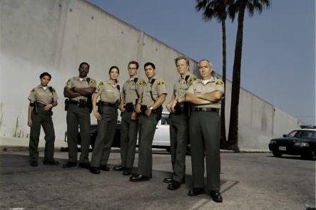 10-8: Officers on Duty : Bild Christina Vidal, Danny Nucci, Ernie Hudson, Jamie Luner, Miguel Sandoval