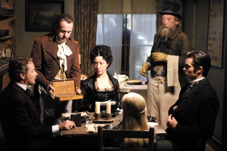 Deadwood : Bild Garret Dillahunt, Molly Parker, William Sanderson