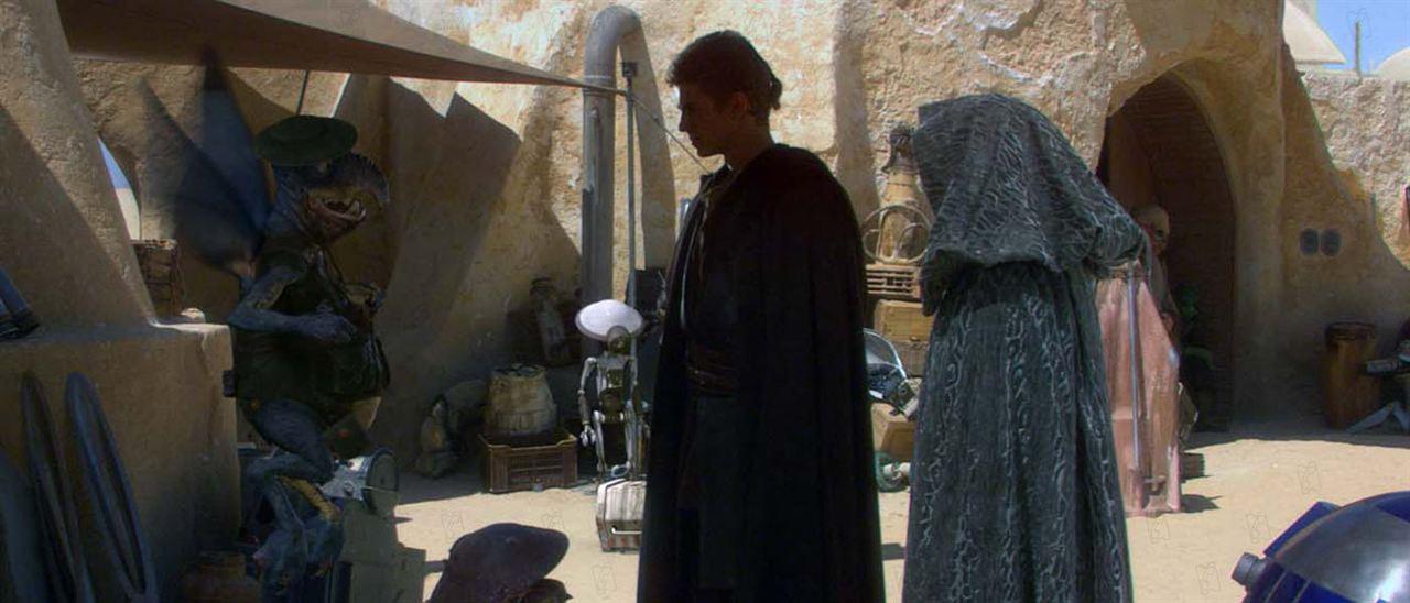 Star Wars: Episode II - Angriff der Klonkrieger : Bild Andrew Secombe, Hayden Christensen, Natalie Portman
