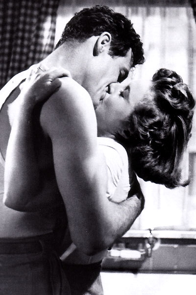 Vor dem neuen Tag : Bild Barbara Stanwyck, Fritz Lang, Robert Ryan