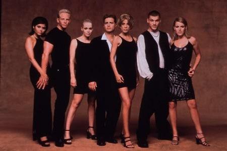 Beverly Hills, 90210 : Bild Brian Austin Green, Ian Ziering, Jason Priestley, Jennie Garth, Kathleen Robertson