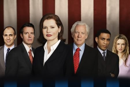Welcome, Mrs. President : Bild Anthony Azizi, Donald Sutherland, Ever Carradine, Geena Davis, Harry Lennix
