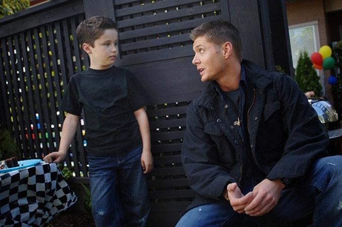 Supernatural : Bild Jensen Ackles, Nicholas Elia