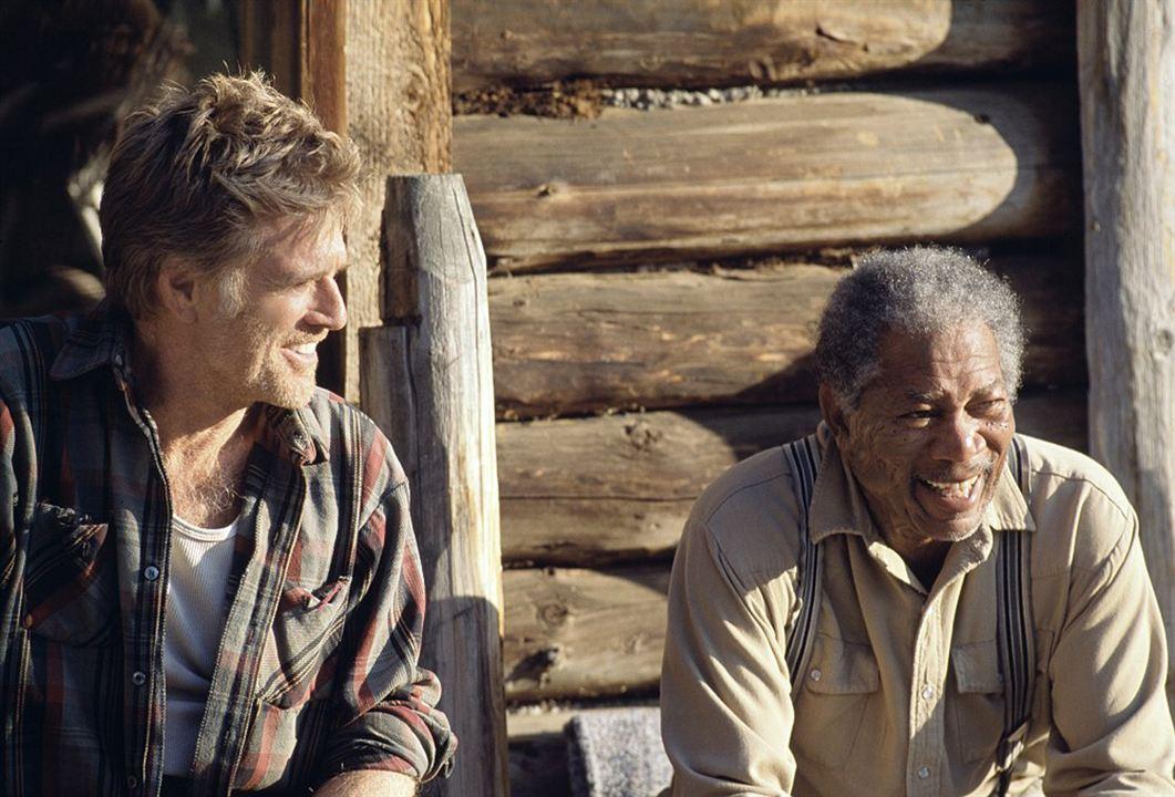Ein ungezähmtes Leben : Bild Morgan Freeman, Robert Redford