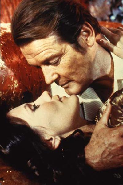 James Bond 007 - Octopussy : Bild John Glen, Maud Adams, Roger Moore