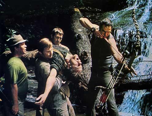 Beim Sterben ist jeder der Erste : Bild Burt Reynolds, Ned Beatty